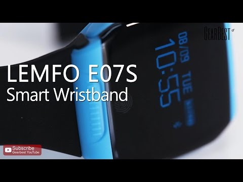 LEMFO E07S BLE 4.0 GPS Sports Tracking Smart Wristband - Gearbest.com