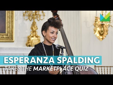 Jazz Artist Esperanza Spalding ditched her '9 to 5' job for her passion