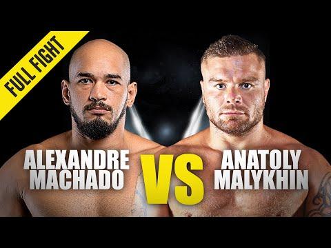 Alexandre Machado vs. Anatoly Malykhin | ONE Championship Full Fight