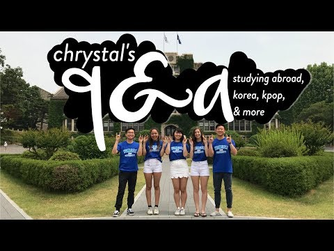 ✧Q&A!! STUDY ABROAD IN KOREA + MORE!!✧
