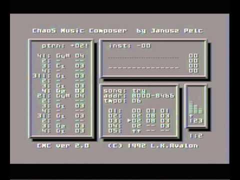 Atari 65XE - Chaos Music Composer