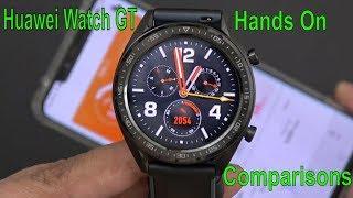 Huawei Watch GT 2 Weeks Battery Life (Comparison to Ticwatch S2 /Pro & Samsung Galaxy Watch)