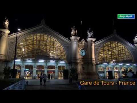 🇫🇷 Gare De Tours - France (4K - Ultra HD)