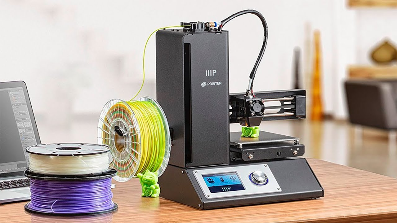 MONOPRICE MP SELECT MINI 3D PRINTER V2/_ BLACK