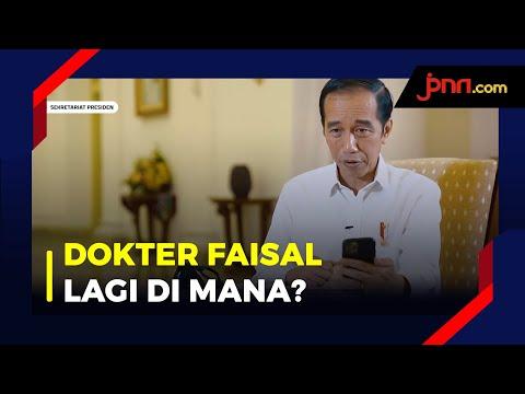 Jokowi Video Call Dengan Dokter Spesialis Paru RS Sulianti Saroso