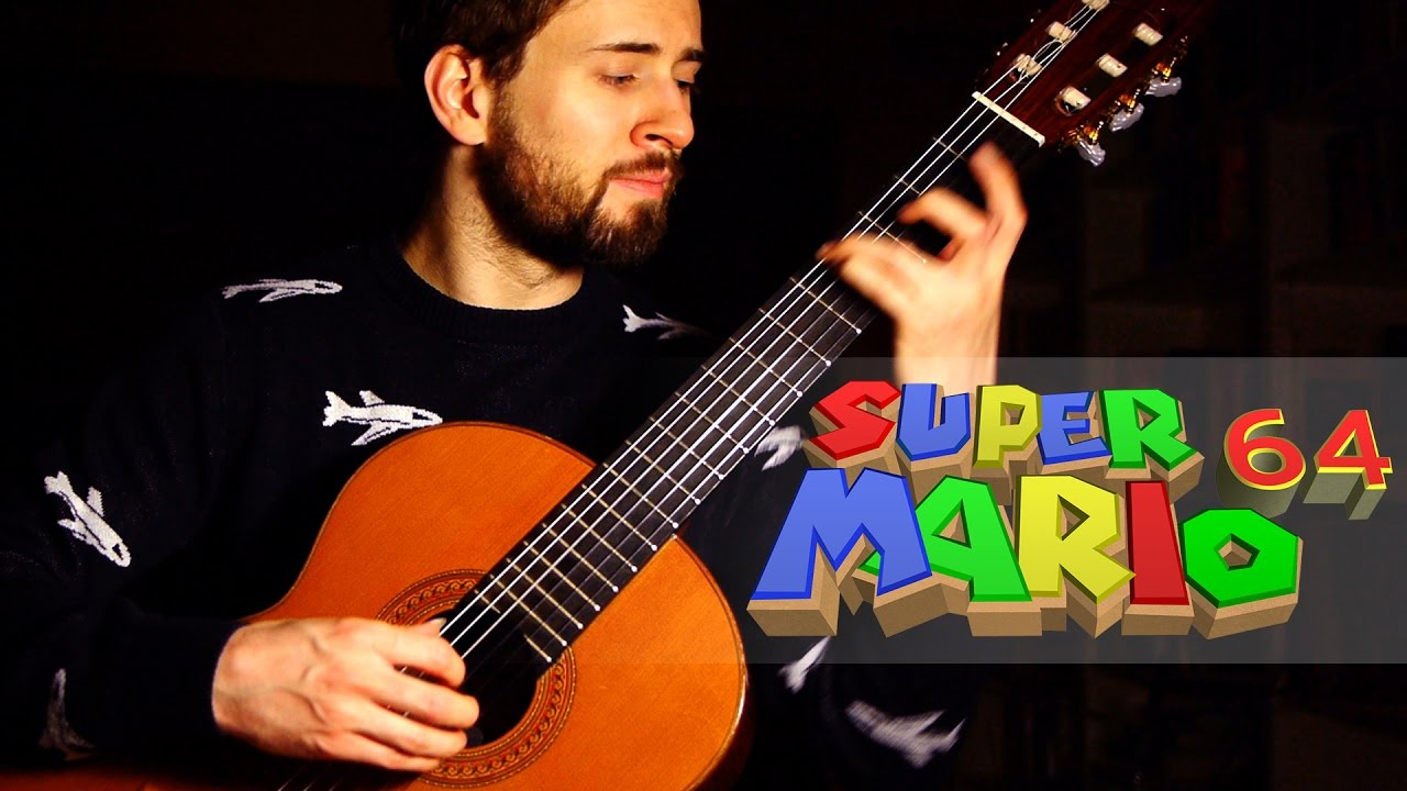 Super Mario 64 Guitar Cover - Dire Dire Docks - Sam Griffin