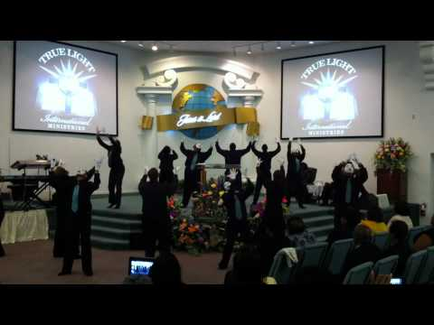 """True Light International Mime Ministry performing """"Identity"""" by James Fortune and Fiya"""