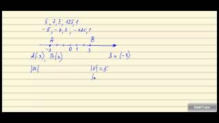 Математика 5-6 классы. 33. Положительные и отрицательные числа. Модуль числа