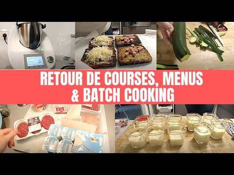 🔔-retour-de-courses-//-menus-de-la-semaine-//-batch-cooking-//-organisation-des-repas-🔔