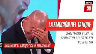 El Tanque #Silva se emocionó en #ESPNF90 al contar su triste momento