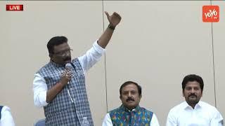 Congress Leader Shravan Speech at Philadelphia USA | Debate on Telangana Projects | YOYO TV