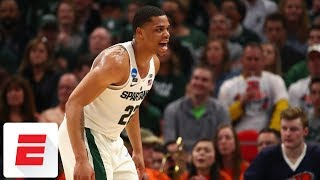 Michigan State holds off Bucknell 82-78 in first round of NCAA tournament | ESPN