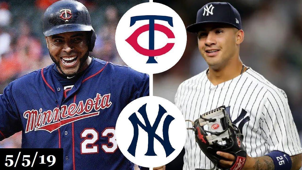 43506605261ac9 Minnesota Twins vs New York Yankees Highlights | May 5, 2019 - YouTube
