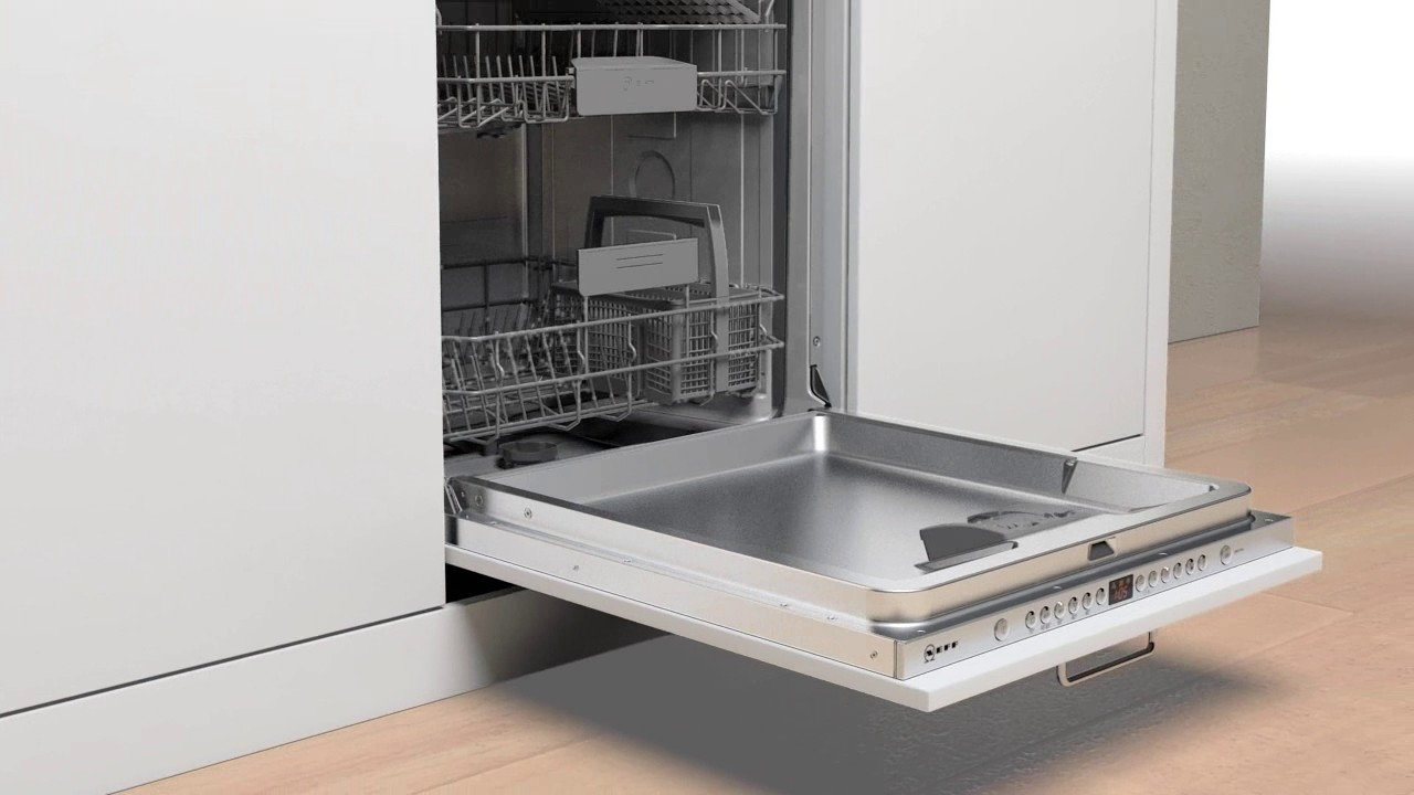 Neff lave vaisselle avec porte glissi res youtube - Lave vaisselle porte a glissiere ...