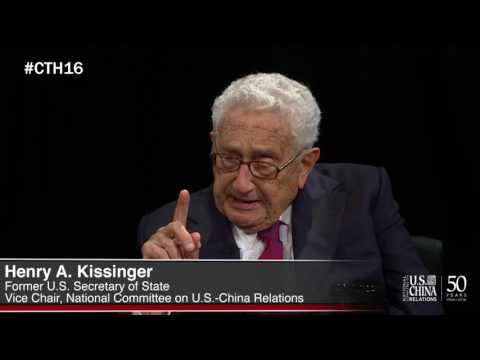 2016 CHINA Town Hall with Dr. Henry Kissinger