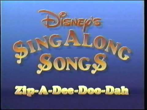 Closing to Disney's Sing-Along Songs: Zip-a-Dee-Doo-Dah 1990 VHS