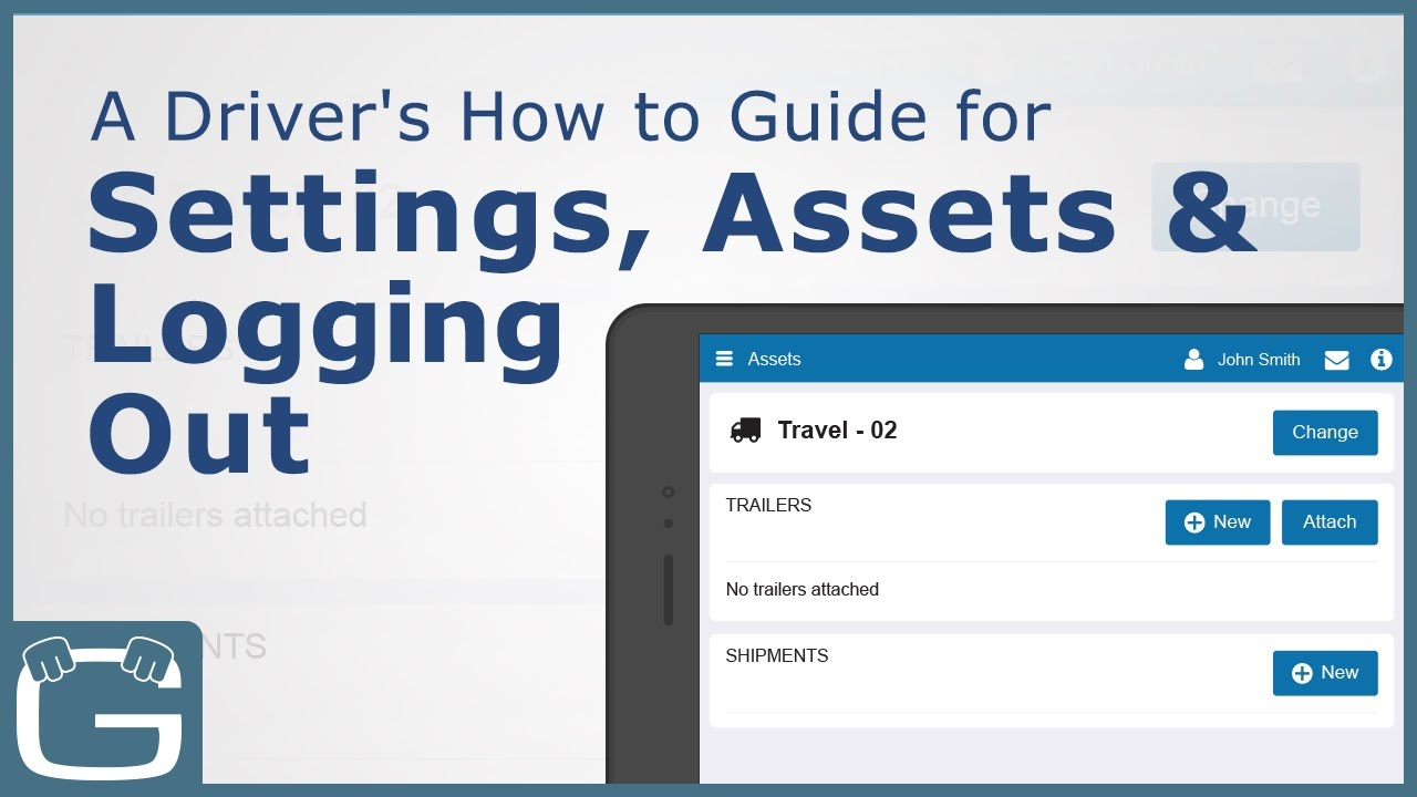 Geotab Drive | How to Guide for Settings, Assets & Logging Out