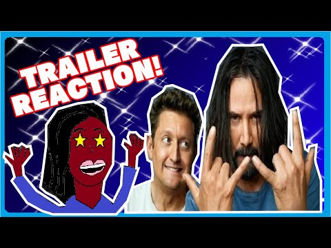 Reaction Video: Bill and Ted Face the Music Movie Trailer
