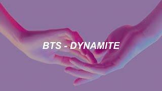 Download lagu BTS (방탄소년단) 'Dynamite' Lyrics