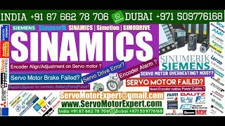 SIEMENS SINAMICS noisy servo motor, servo motor creeping, rotary encoder jitter, Food Machinery, LTN