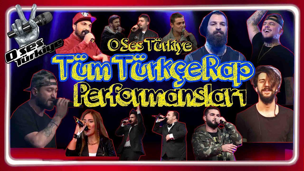 O Ses Türkiye ve Türkçe Rap - Tüm rap performansları / ( Joker Tepki Tankurt Kurşun Misal Zeo vs )
