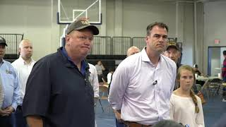 Oklahoma Weather: Gov. Stitt, Mayor White talk about El Reno damage