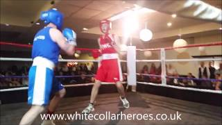 White Collar Boxing Carlisle fight 12