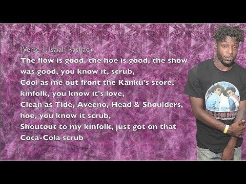 Isaiah Rashad - Free Lunch - Lyrics