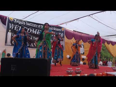 Rangilo Maro..dholna Dance Performance By Gnm 1st Yr