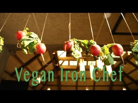 RawDaddy James Hall at Vegan Iron Chef SF