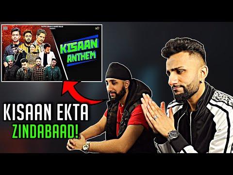 kisan-anthem-|-mankirt-/-jass-bajwa-/-dilpreet-/-jordan-/-afsana-+-more-|-geet-nation-reacts