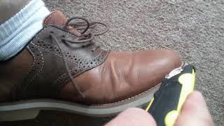 Trash saddle shoes 2