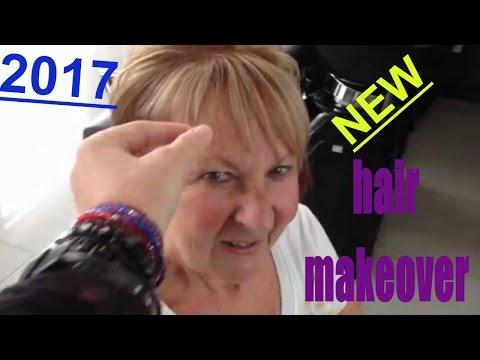 extreme hair makeover 2017,ladies short haircut color,dames kort kapsel,by amal hermuz hair tv spain