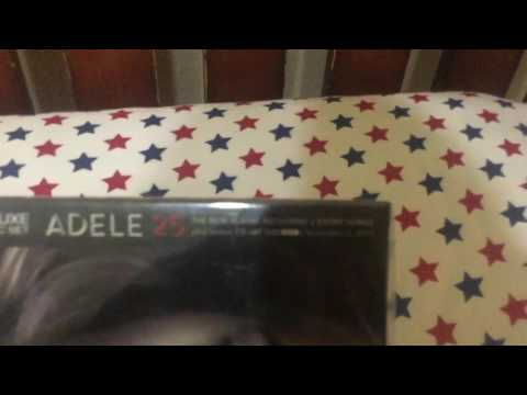 Adele 25 - (Deluxe Edition 2 Disc Set) - (Unboxing)