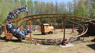 Drako On Ride HD 60FPS POV Walibi Holland