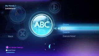 How to use Just Create on Kinect for Xbox 360 | Just Dance 3