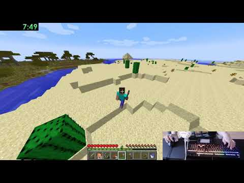Minecraft Any% Random Seed Glitchless in 41:43