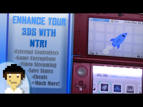 What NTR Custom Firmware Can Do For 3DS! | NTR Showcase