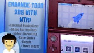 What NTR Custom Firmware Can Do For 3DS!   NTR Showcase