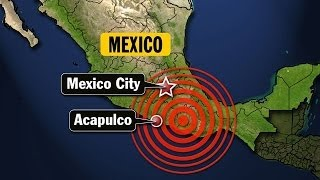 Earthquake : Powerful 6.8 Earthquake strikes near Acapulco Mexico felt 200 miles away (May 08, 2014)