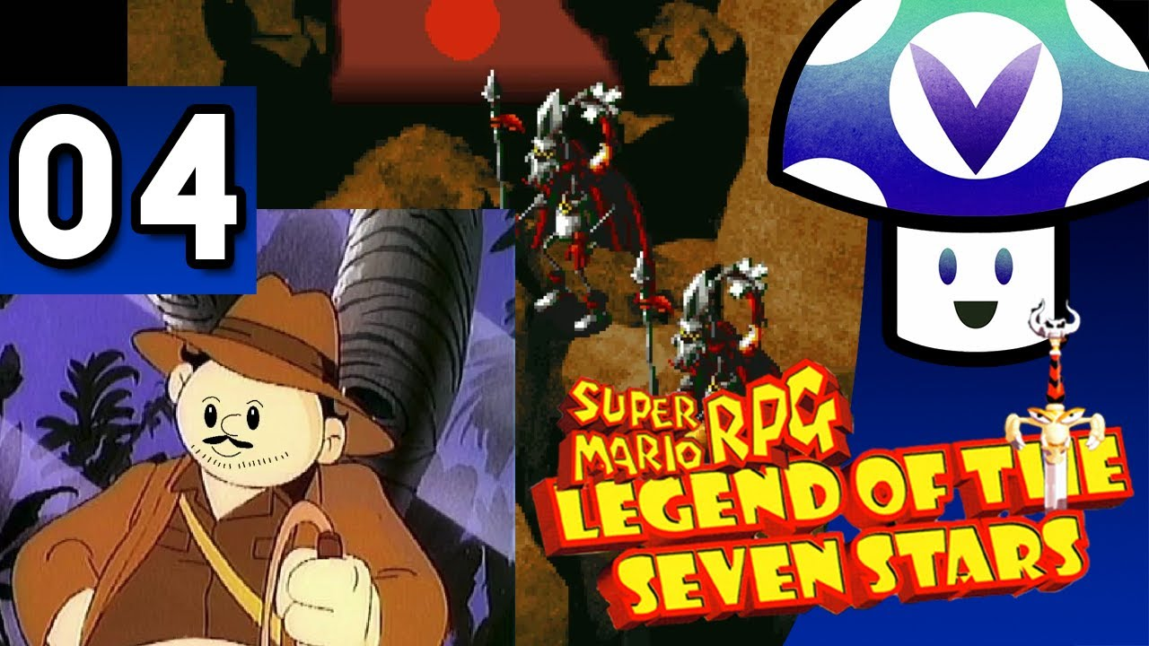 [Vinesauce] Vinny - Super Mario RPG: Legend of the Seven Stars (part 4) +  Art!