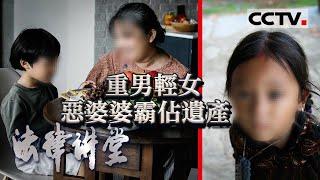《法律讲堂(生活版)》 20201214 来了民法典·难分的遗产  CCTV社会与法 - YouTube