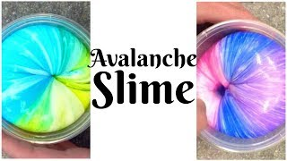 Avalanche Slime || Instagram Slime || Taylor and Vanessa