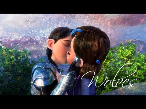Wolves♥//TrollHunters S2 ¡Spoilers!  //Jim x Claire// ♥ AMV
