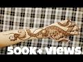 Gulf henna design for hands | mehndi design for backside. 2017
