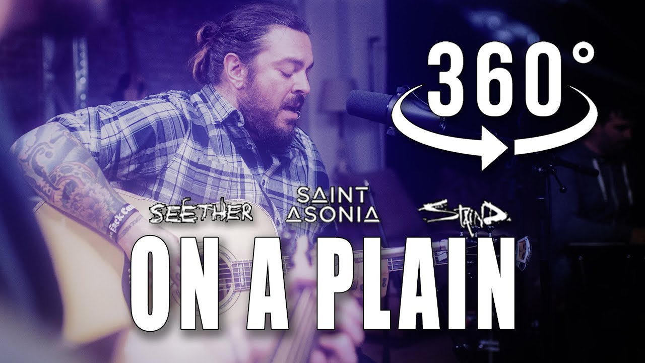 """""""On A Plain"""" by Nirvana - Covered by Shaun Morgan of Seether at The VR Sessions in 360˚ VR"""