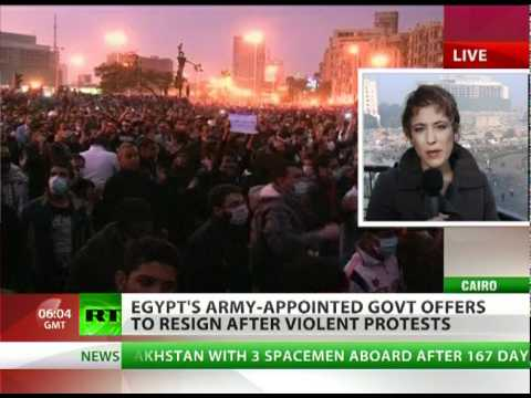 Revolution: Egypt army-backed govt quits after 3-day bloodbath