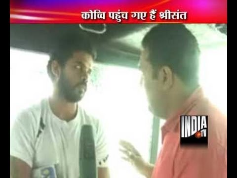 Sreesanth exclusive interview after bail