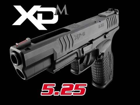 Springfield XDm 5.25 Competition Pistol Review