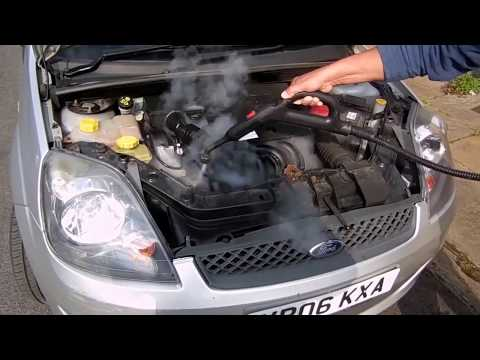 how clean car engine very easy try this before you go to service station
